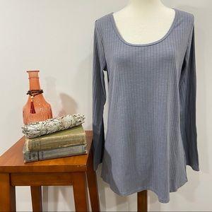 Lularoe Grey Long Sleeve Top